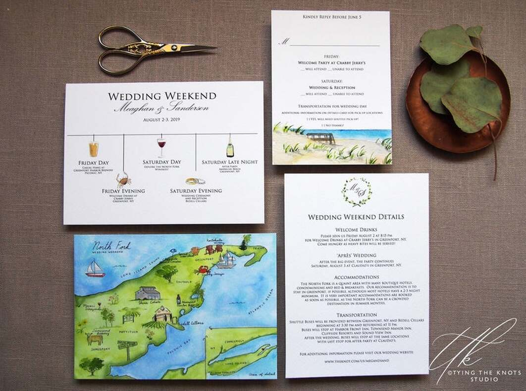 The North Fork Wedding Invitations